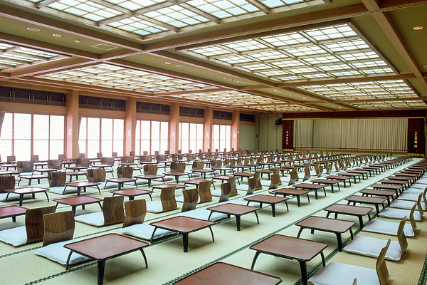 Hall that can be used for meetings and banquets